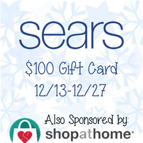 Where To Buy Home Goods Gift Cards - love mrs mommy sears 100 gift card giveaway