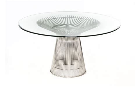 warren platner dining table warren platner style dining table from iconic interiors