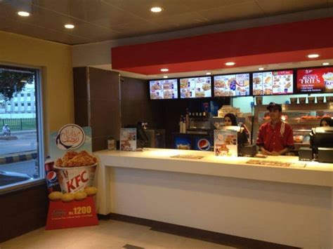 kfc cantt restaurant  lahore menu timings contacts map