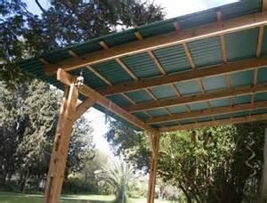 Design Ideas For Suntuf Roofing Suntop 174 Corrugated Foamed Polycarbonate Sheet Palram Americas Porch Wood Patio