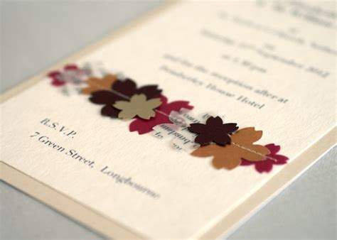 Wedding Invites Handmade - ideas for handmade wedding invitations weddingelation