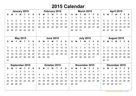 2015 And 2016 Calendars Yearly Calendar 2015 2017 Calendar With Holidays