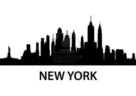 cartoon tattoo new york illustration of new york skyline detailed silhouette