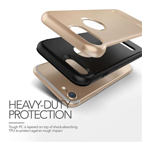 Verus Iphone 7 Duo Guard Chagne Gold verus duo guard skal till apple iphone 8 7 gold