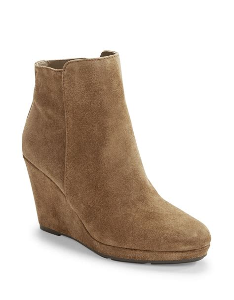 via spiga darina wedge ankle boots in lyst