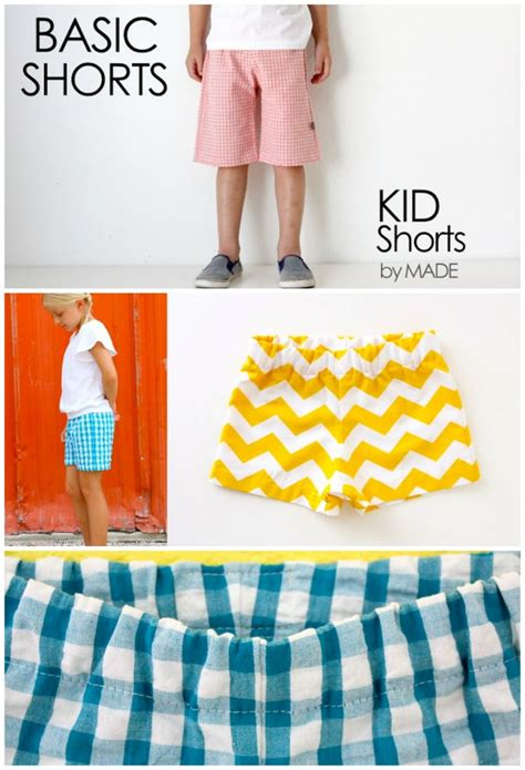 toddler shorts pattern free kids shorts pattern children s clothing pinterest