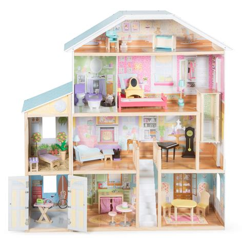 4 story dollhouse kidkraft majestic 4 story mansion dollhouse 65252 ebay
