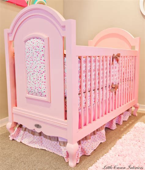 Donate Crib by Friday Find Hope Pink Crib For Baby Simplified Bee