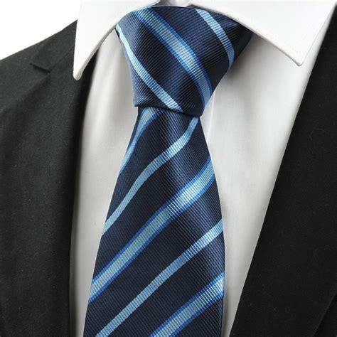 factory outlet mens ties 2013 blue stripe silk