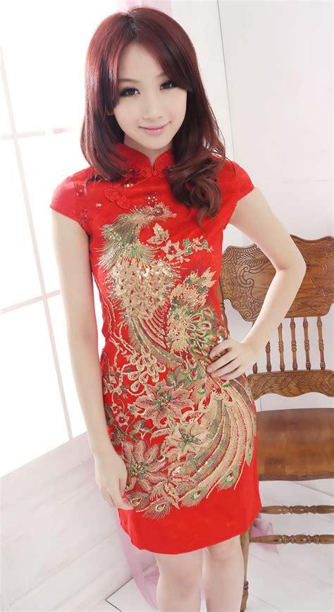 Blouse Cheongsam Imlek Wanita Murah Bahan Katun baju wanita cheongsam modern 2014 model terbaru jual murah import kerja