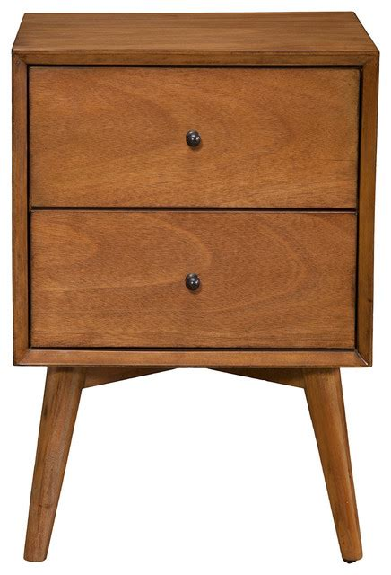 mid century bedside table acorn flynn nightstand acorn midcentury nightstands and