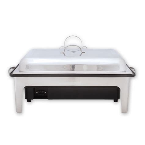 Sunnex Roll Top Rectangular 85lt chafer dish electric palace chafing dish electric