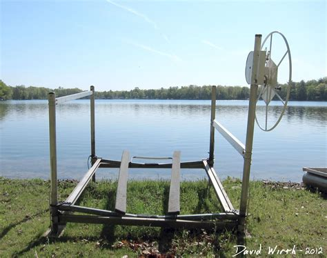 boat lift canopy bungee cord homemade boat lift plans how to and diy building plans