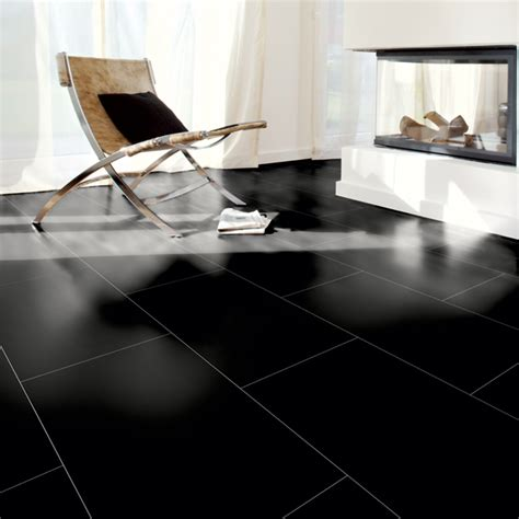 kronotex gloss black laminate tiles factory direct flooring
