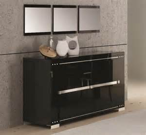 high gloss sideboard armonia black high gloss 3 door sideboard with