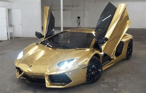 lamborghini car gold s most expensive car gold lamborghini aventador
