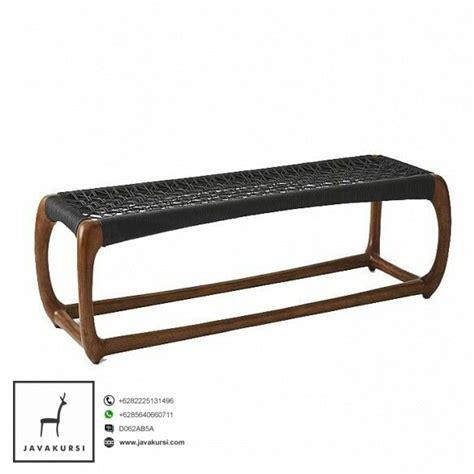 Kursi Panjang Cafe harga kursi panjang kayu rotan minimalis jual furniture