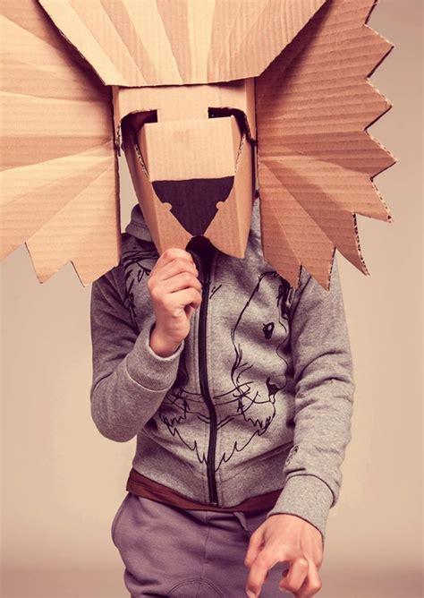 Masker Per Box costumi di carnevale fai da te riuso creativo con il