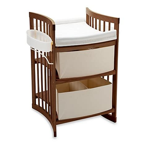 Stokke Change Table Stokke 174 Care Changing Table In Walnut Buybuy Baby