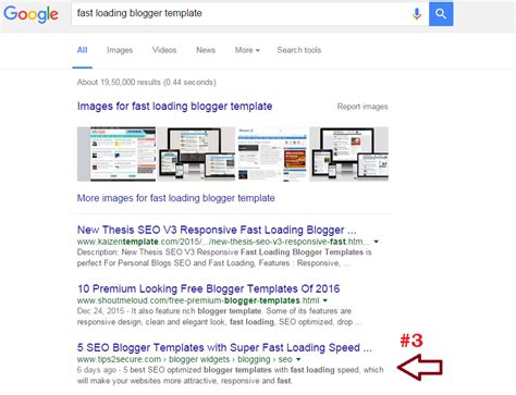 fast loading templates for blogger niche does not always matter in google rankings case study