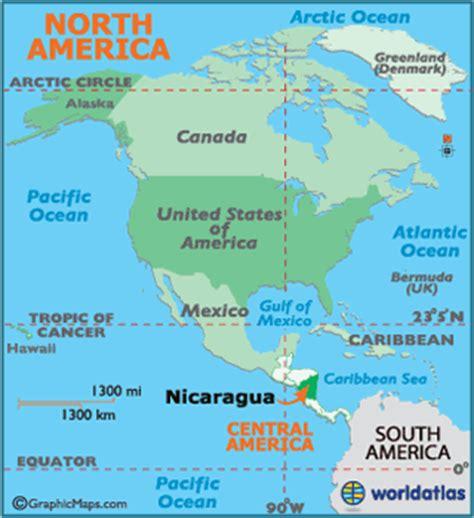 nicaragua location on world map nicaragua map geography of nicaragua map of nicaragua
