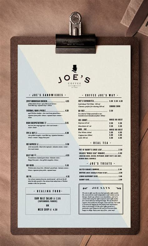 Menu Ideas For - 25 best ideas about menu layout on menu