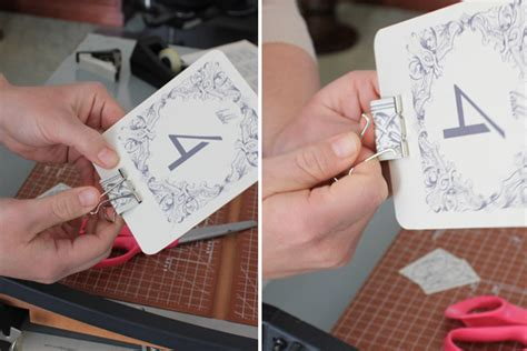 Diy Table Number Holders by Diy Table Numbers Holders The Budget Savvy