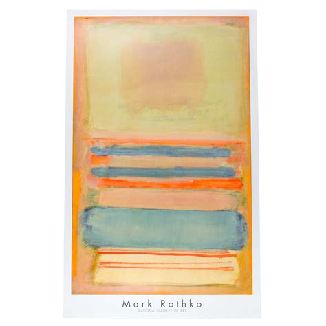 Children S Home Decor by Rothko No 7 Or No 11 1949 Poster Pastel National