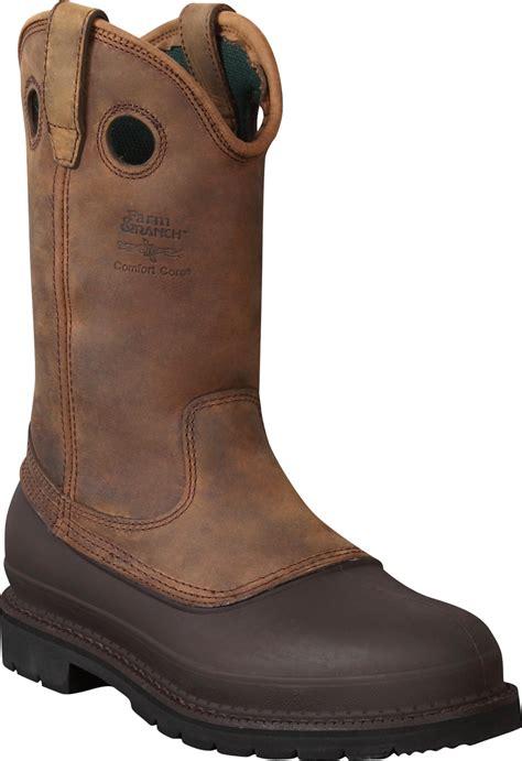 muddog mens mississippi brown leather pull on work