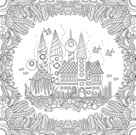 enchanted forest coloring page pdf enchanted forest coloring book pages coloring page
