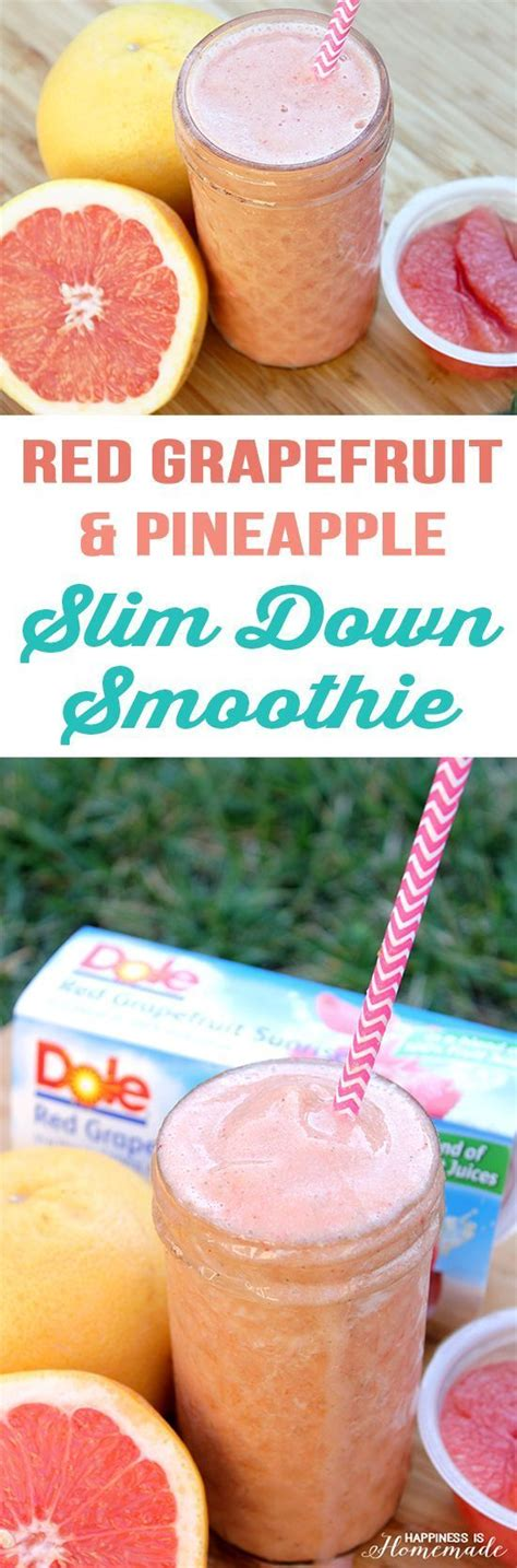 Pineapple And Grapefruit Detox by 17 Best Ideas About Slim Drink On 5 Day
