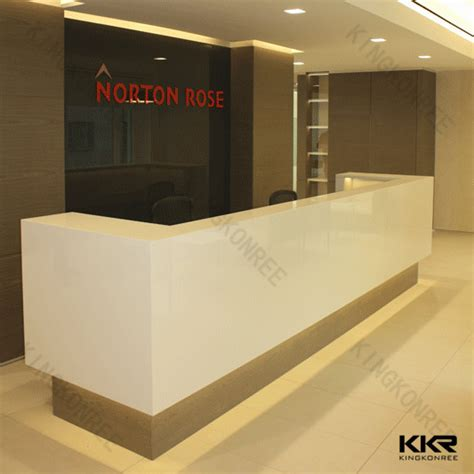 modern reception counter design modern durable hotel reception counter design buy hotel