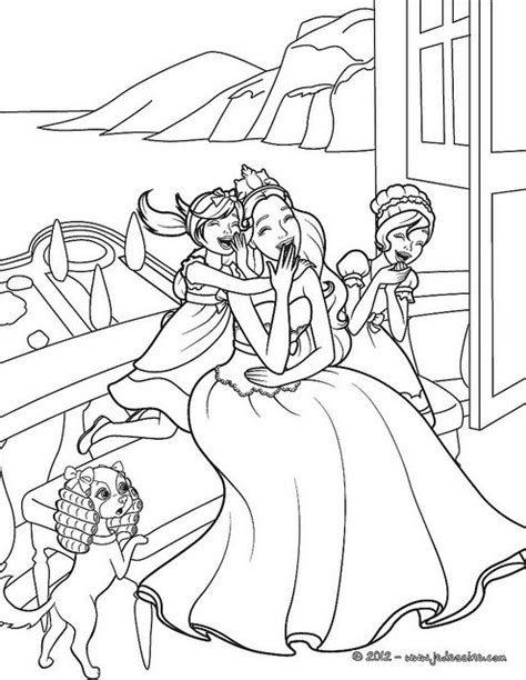 coloring pages princess and the popstar barbie princess and the popstar colouring pages for