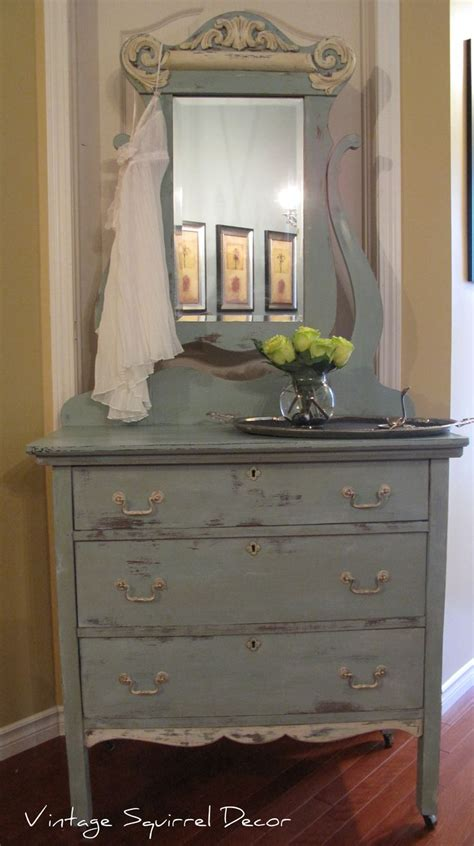 painted antique dresser with mirror 17 best images about vintage squirrel decor on