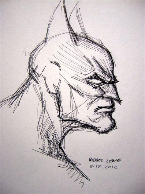 Sketches In Pen by Batman Sketch In Point Pen By Myconius On Deviantart