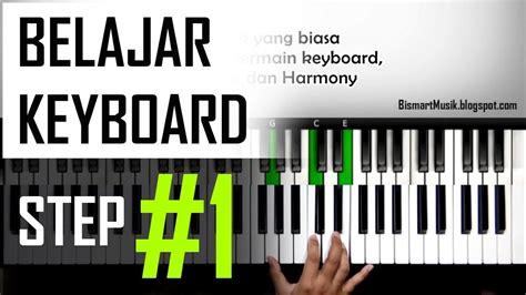 Keyboard Untuk Pemula belajar keyboard 1 teknik bermain keyboard dan posisi