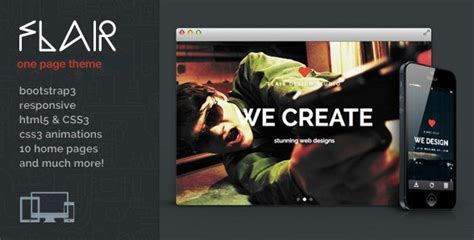 themeforest purchase code crack flair one page responsive wordpress theme download