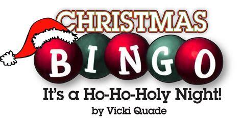 christmas bingo it s a ho ho holy night media tibbits
