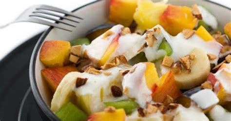 cara membuat salad buah tanpa yogurt amelia yoghurt resep salad buah yogurt amelia