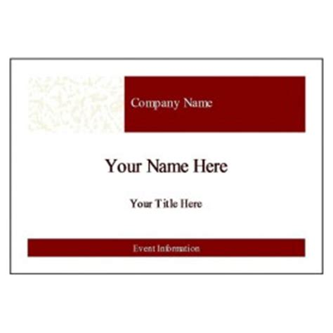avery templates 5395 free avery 174 template for microsoft word name badge label