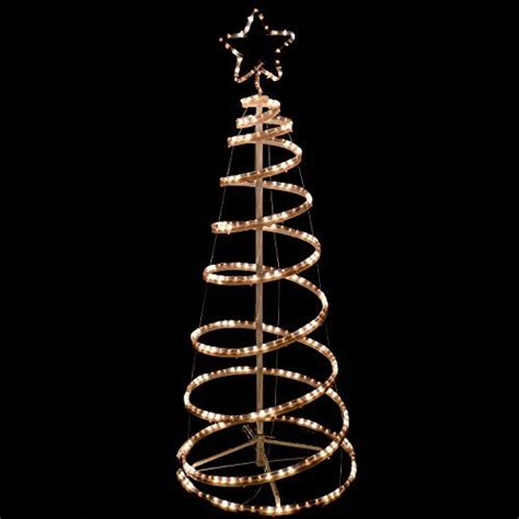5 foot spiral rope light christmas tree flashing werchristmas 5ft 150 cm 3d spiral tree rope light silhouette get ahead