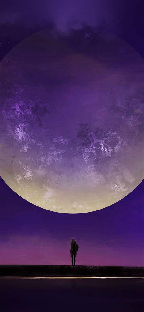 wallpaper earth moon iphone