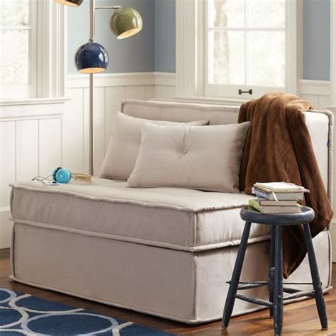cushy sleeper sofa cushy sleeper sofa 47 25 quot pbteen