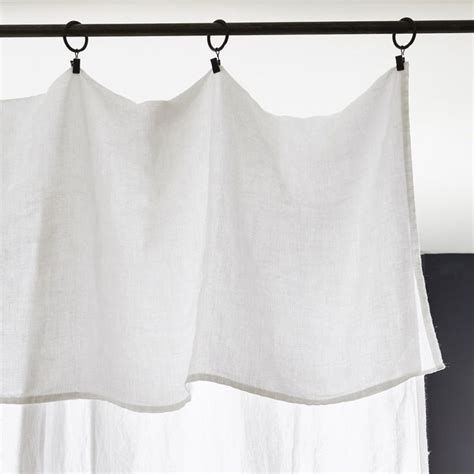 bed sheet curtains 25 best ideas about white linen curtains on pinterest
