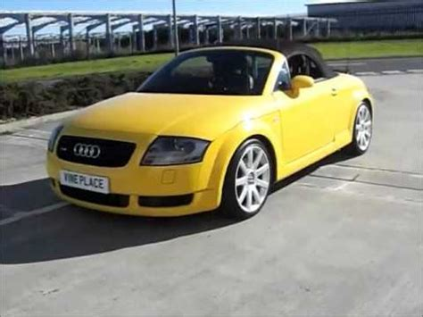 audi tt convertible for sale yellow audi tt convertible for sale