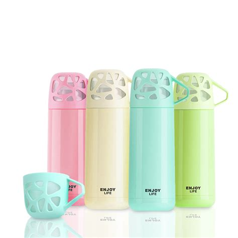 Termos 300ml Termos Stainless Motif Eiffel 300ml thermos cup thermo mug child thermos water bottle