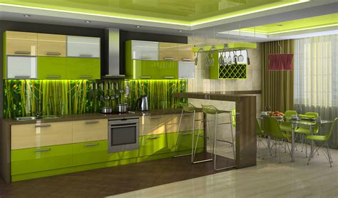 lime green kitchen summer colour schemes and home trends kitchen amazing minimalist ikea small ideas interior