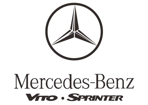 mercedes logo vector mercedes vito sprinter logo vector automobile