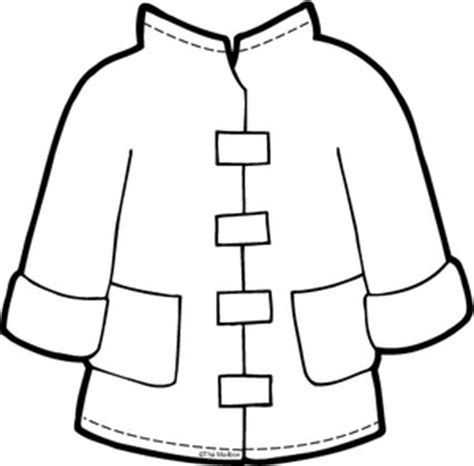 winter coat template results for all products preschool guest the mailbox