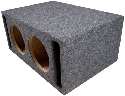Box Speaker Subwoofer 8 Inch dual 8 inch vented sub box ported subwoofer 40 quot port ebay